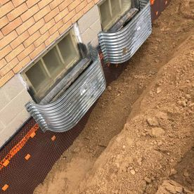 Basement Waterproofing exterior