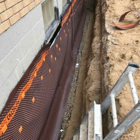 Basement Waterproofing exterior 7